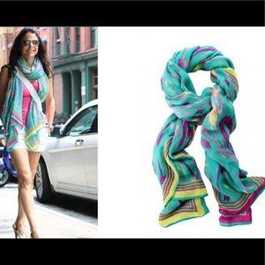 Stella & Dot Wrap Shawl Scarf Multi Color